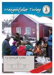 Ny hytte på Kjølen - Mangenfjellet turlag