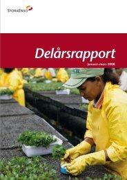 Delårsrapport - Stora Enso