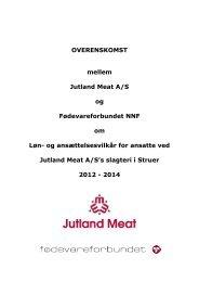 Jutland Meat Overenskomst 2012-2014 - NNF