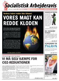 vi må selv kæmpe for co2-reduktioner - Internationale Socialisters ...