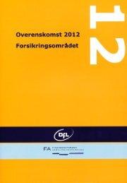 Overenskomst 2012 - dansk udgave - DFL