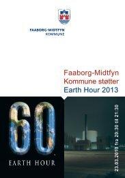 Folder om Earth Hour 2013 - Faaborg-Midtfyn kommune