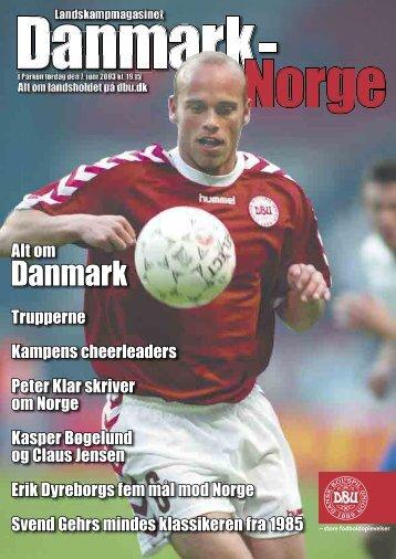 DBU/Danmark - Norge