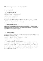 Referat af bestyrelses møde den 15. September. - Børnehaven ...