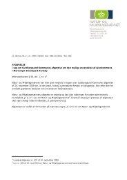 AFGØRELSE i sag om Guldborgsund Kommunes afgørelse om den ...