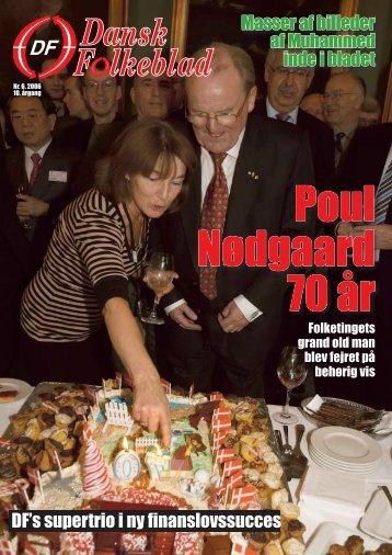 Poul Nødgaard 70 år - Dansk Folkeparti