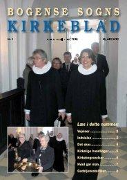 KIRKEBLAD - Bogense kirke