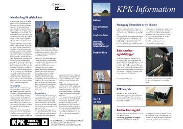 KPK-information nr. 12 - KPK Vinduer