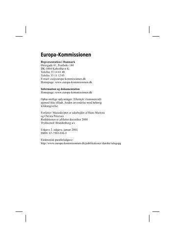 hæfte om EU.pdf - Kolding HF & VUC