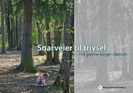 Snarveier til trivsel - Norges Naturvernforbund