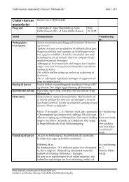 Underviserens manuskript - BibTeach