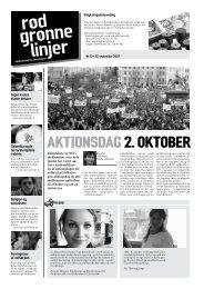 AktionsdAg 2. oktober - Enhedslisten
