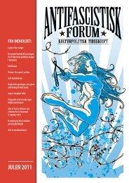JULEN 2011 - Foreningen Antifascistisk Forum