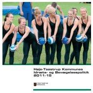Idræts- og Bevægelsespolitik 2011 - 2015 (PDF) - Høje-Taastrup ...