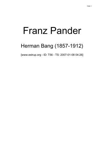 Franz Pander