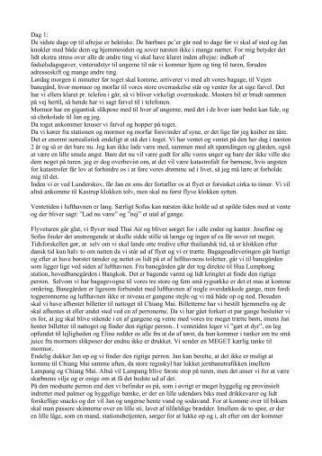 Asien 2006 dagbog - Familien Lyngholm