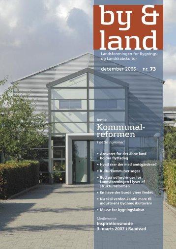 Kommunal- reformen - Landsforeningen for bygnings- og ...