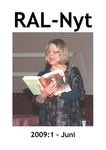 RAL-Nyt 2009:1 - Juni - Ribe Amts Lokalarkiver