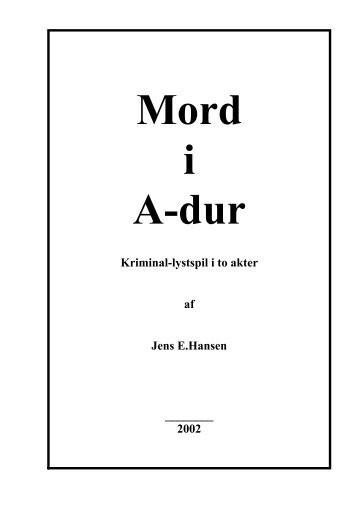 Mord i A-dur - data Plays