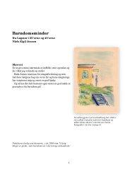 Barndomsminder - Lokalhistorisk Arkiv for Løgstør Kommune