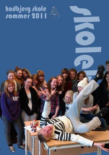 Hadbjerg skoles skoleblad 2011 pdf