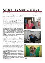 Årsbrev 2011 - Helene og Danni Kristensens hjemmeside
