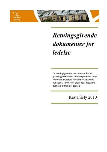 Kastaniely - Dansk kvalitetsmodel på det sociale område