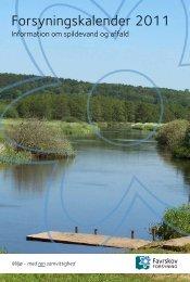 Forsyningskalender 2011 - Favrskov Forsyning