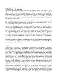 Alle positionpapers - FN-forbundet