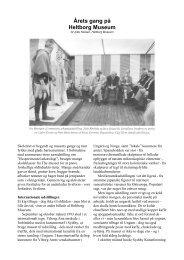 Nielsen, Jytte 'Årets gang på Heltborg Museum'.pdf - Thisted Museum