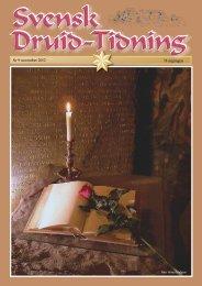 Nr 9 november 2012 78 årgången - svenska druid-orden