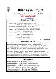 Nr.14 - 7. årgang - September 2005 - Himalayan Project