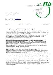 Den danske særregel bidrager i urimelig grad til unfair ... - ITD