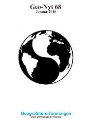 Geo-Nyt 68 - Geografilærerforeningen