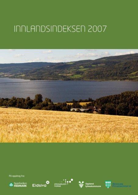 INNLANDSINDEKSEN 2007 - Oppland fylkeskommune