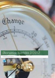 Økonomisk overblikk 2/2012 - Aksjonsprogrammet