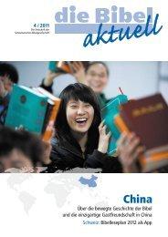China - Schweizerische Bibelgesellschaft