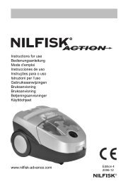 Instruction for use Nilfisk Action West EU.indd - Selectra