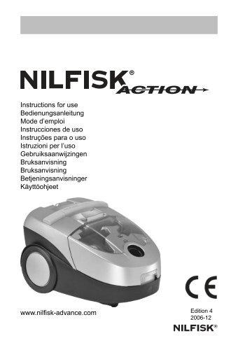 Instruction for use Nilfisk Action West EU.indd - Selectra