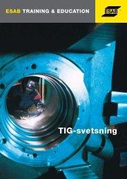 TIG-svetsning - Esab