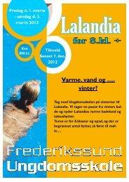 Lalandia 8 kl feb 2013 - Frederikssund Ungdomsskole