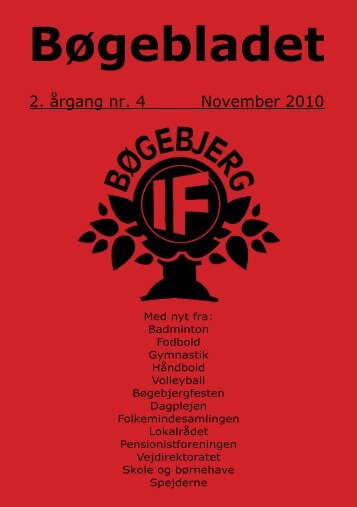 2. årgang november 2010 - bøgebjerg if