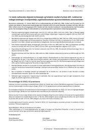 I 1. halvår realiseredes stigende bruttomargin og ... - IC Companys