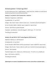 Schweissprøver i 5-klub regi 2013 - Fjd