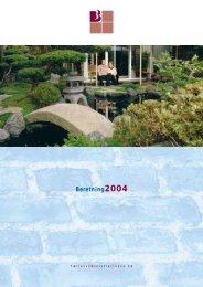 Beretning2004 - Boligforeningen 3B