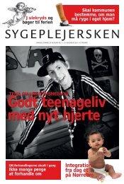 Sygeplejersken 2010 Nr. 21 - Dansk Sygeplejeråd