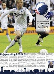 Højspænding i PARKEN - FC København