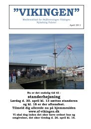 standerhejsning - Sejlforeningen Vikingen