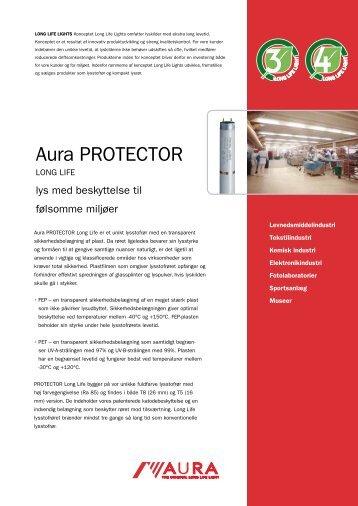 Aura PROTECTOR Long Life - produktblad - Aura Light