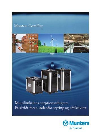 Klik her for at downloade produktbrochure - Munters A/S